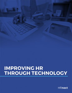 "Free eBook - ""Improving HR through technology"""